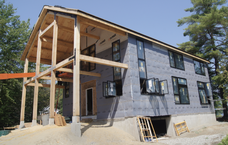 Home building in Hinesburg