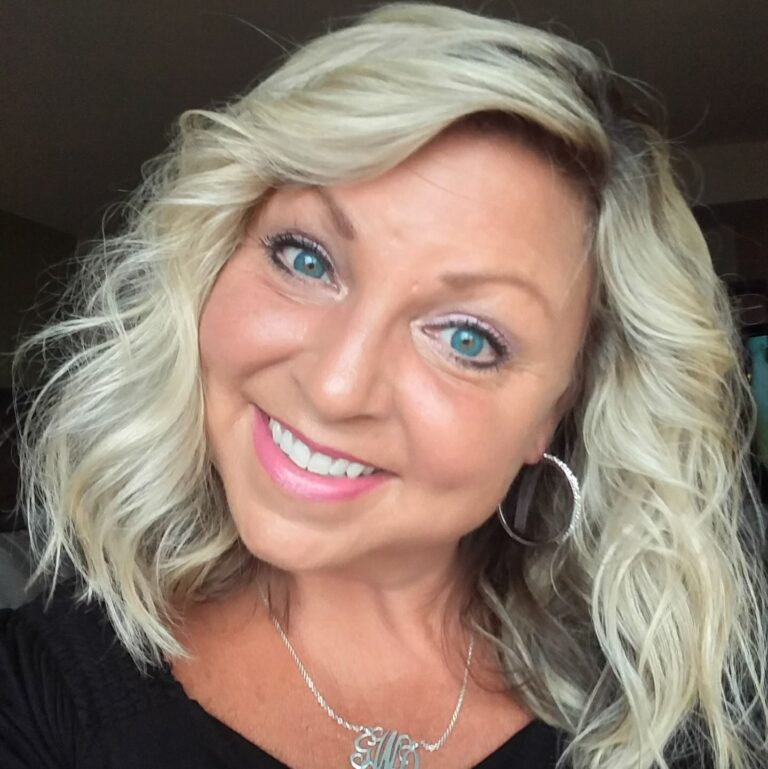 Author of Southern Girl Flare Gina Lady with Blond Hair