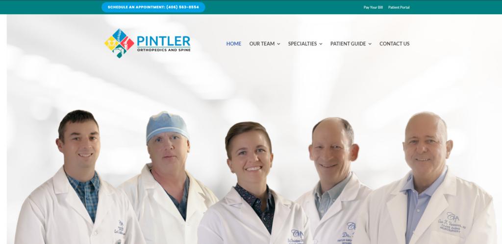 pintler orthopedics and spine