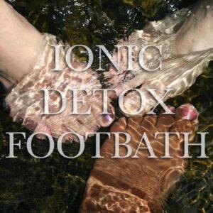 Ionic Foot Bath