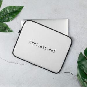 ctrl alt delete laptop sleeve 13 inch