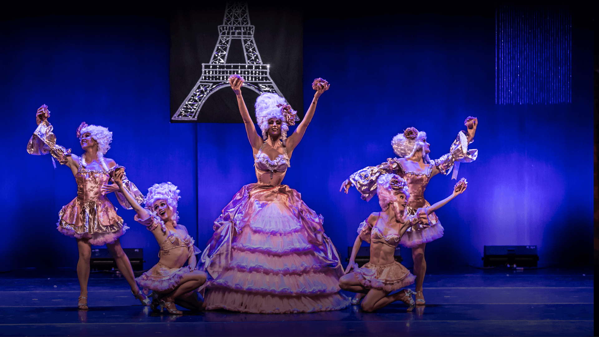 """Get ready to be transported between the Vegas's """"Jubilee"""" and the Parisian's """"Moulin Rouge"""" type of world."""