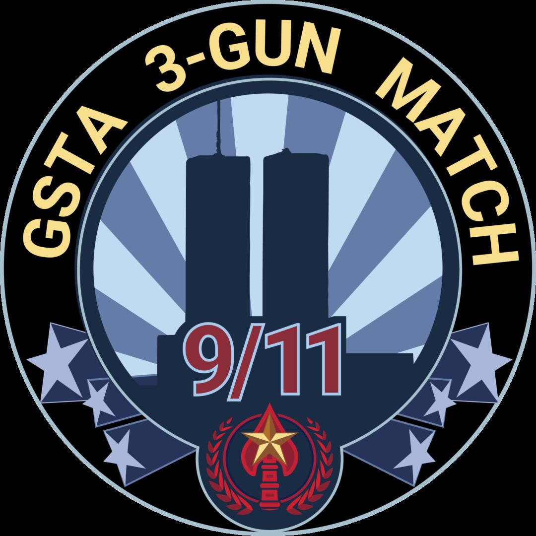 3 gun logo round
