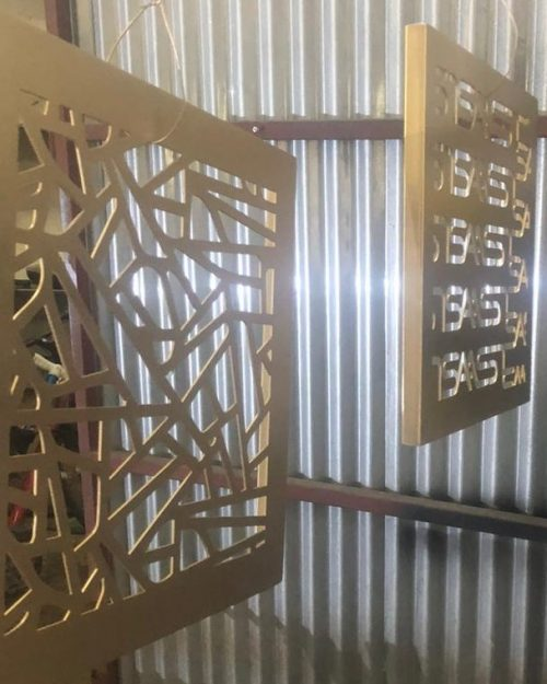 IronClad Steel Fabrication Workshop | Laser Cutting & Water Jet