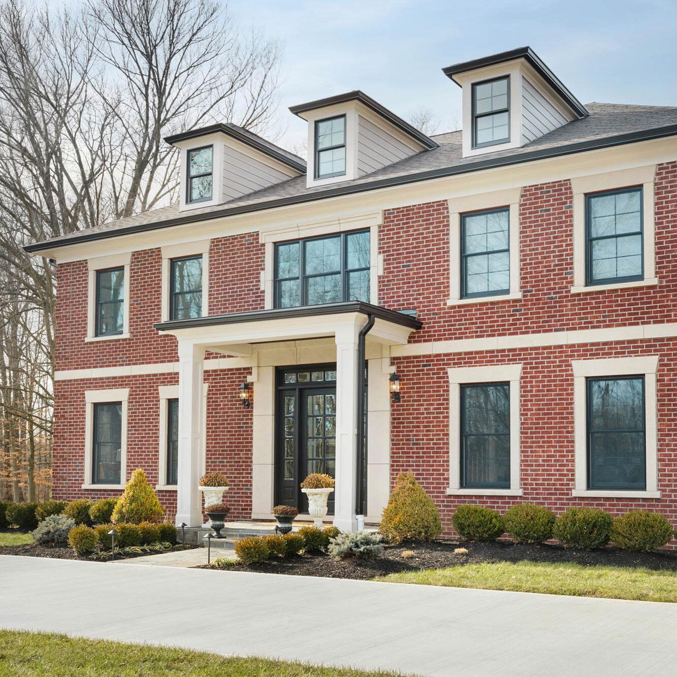 Shadyglen exterior Indian Hill custom home builder