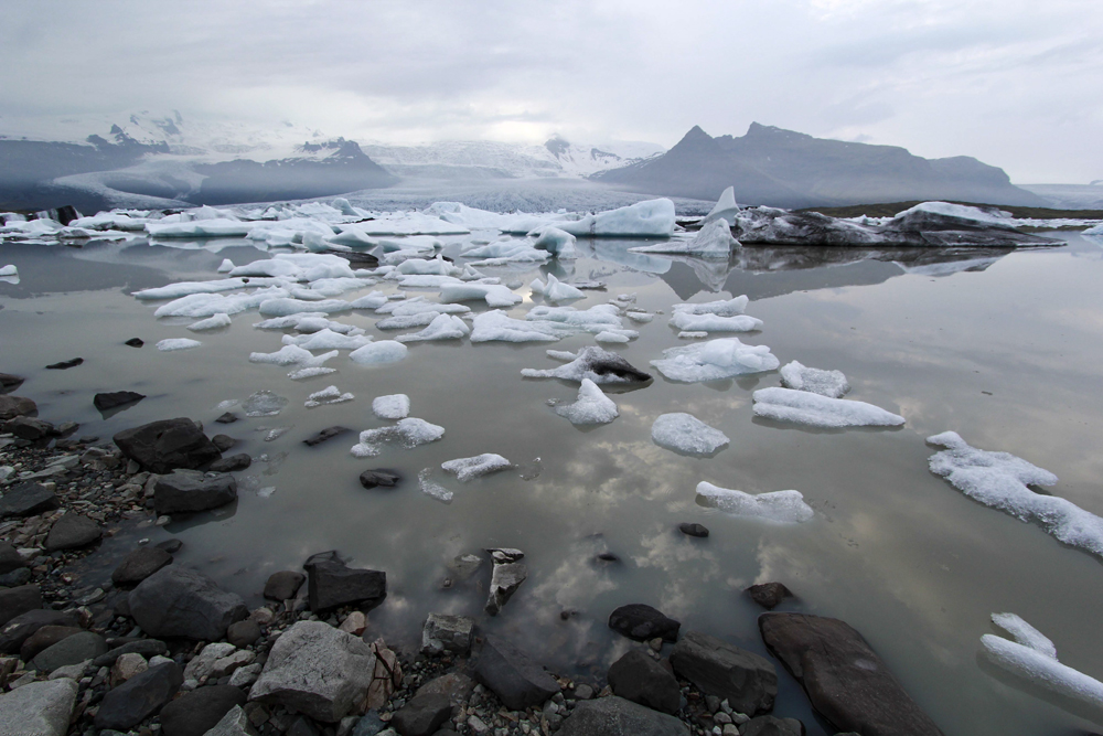 Viking hike and glaciers, South Iceland