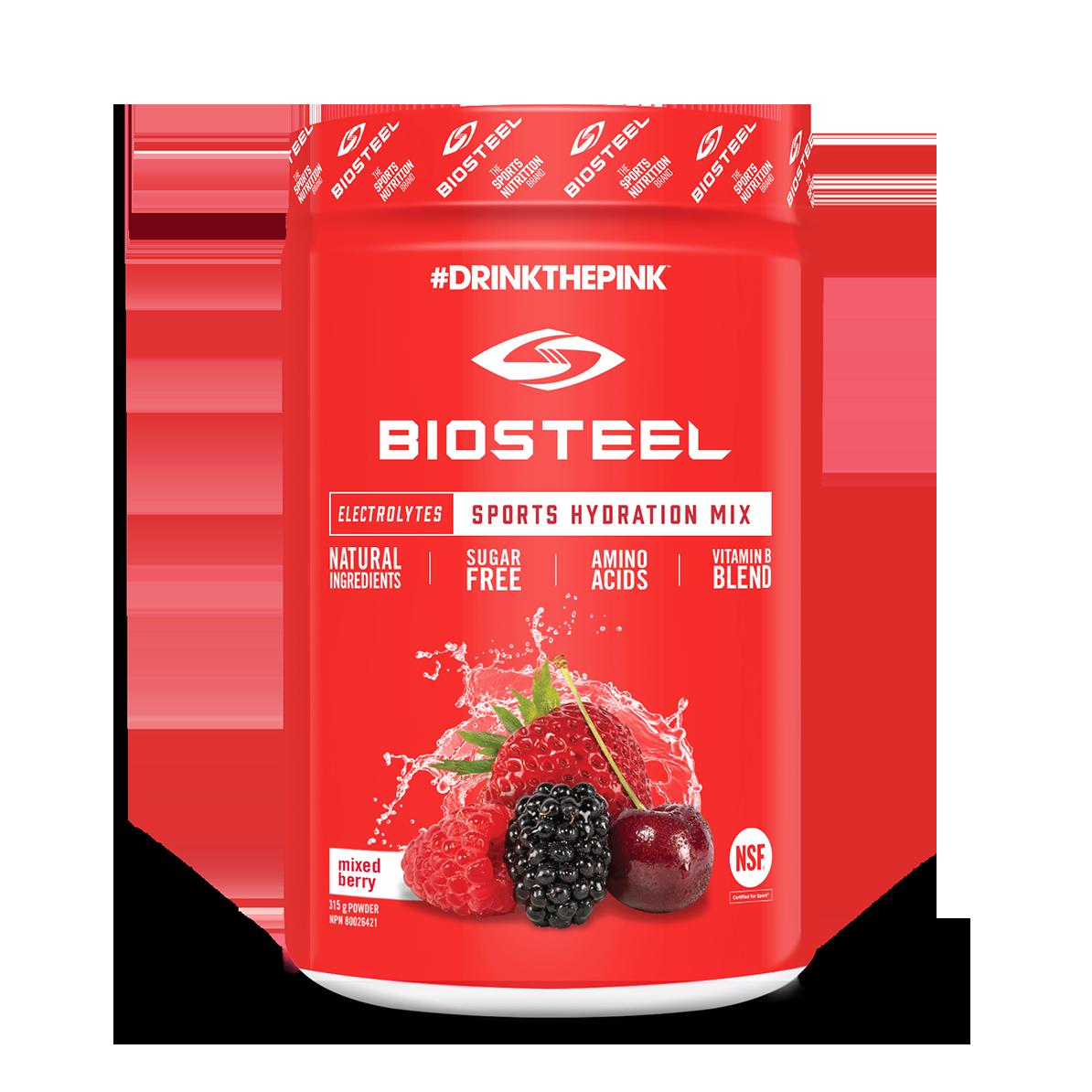 biosteel orange container