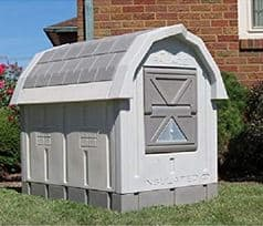 Dog Houses - Outdoor Dog Houses-ASL Solutions Deluxe Insulated Dog Palace with Floor Heater - dogspeaking.com