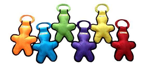 Tug-O-Man Rope Plush Dog Toy - dogspeaking.com