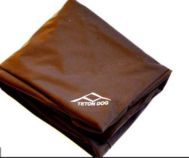 Tetons DIY dog bed cover for dogs with allergies