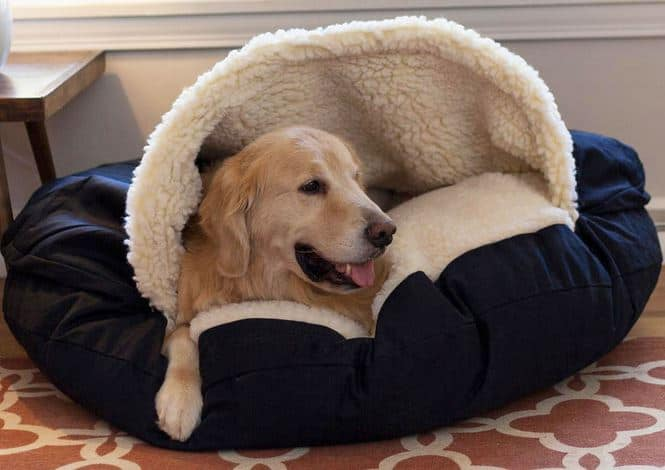 Snoozer cozy dog cave bed