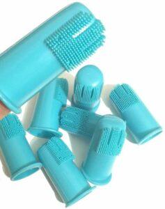 H & H Pets dog finger toothbrush set