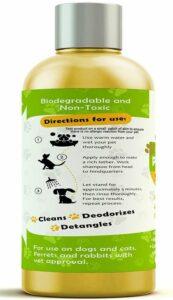 ProPets natural dog shampoo