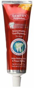 Sentry dog toothpaste dog dental health - dog oral health
