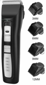 Bousnic Dog clippers - 2 speed cordless dog grooming tools-dog clippers and scissors