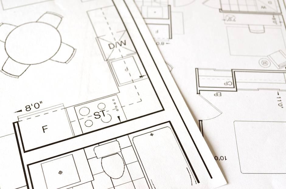 open floor plan layout
