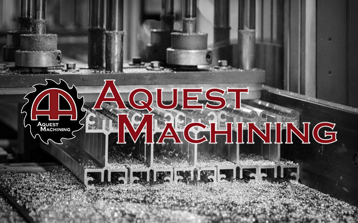 Aquest Machining box graphic