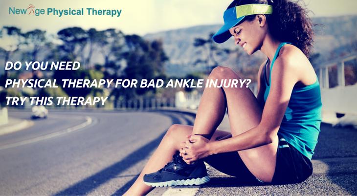 bad ankle injury