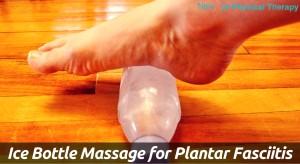 Ice Bottle Massage for Plantar Fasciitis