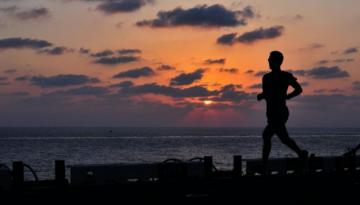 sunset-runner