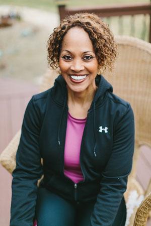 Danita Johnson Hughes exercising