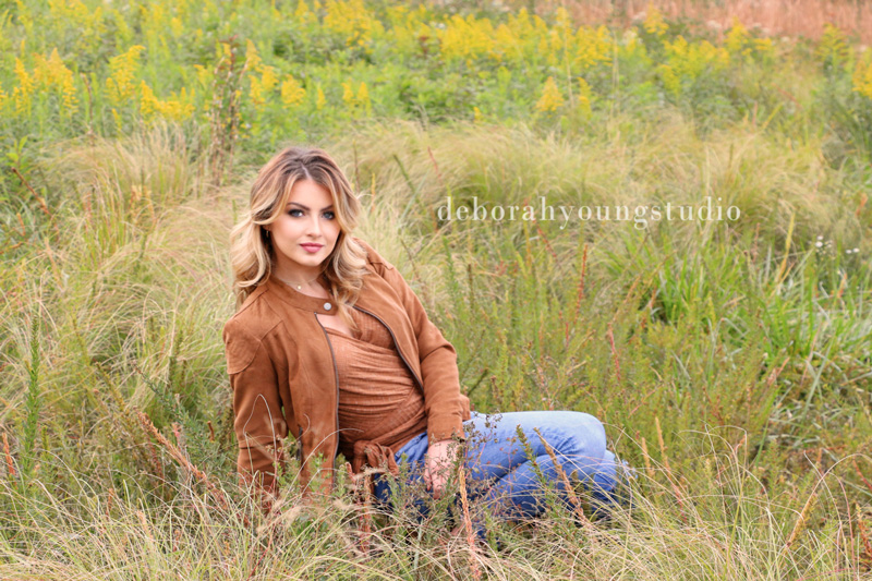Deborah Young photo - female photo in field