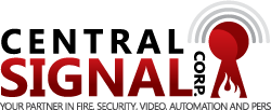 Central Signal Corp | Your Partner in Fire, Security, Video, Automation, and PERS Logo