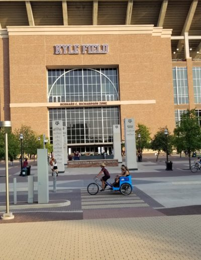 Kyle Field Pedicabs