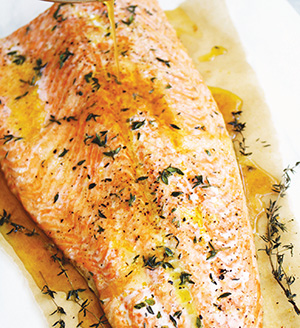 City Palate, guide to the good life in Calgary - one ingredient - 2019-05-06 - Cider-Glazed Salmon