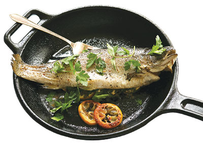 City Palate, guide to the good life in Calgary - one ingredient - 2018-07-08 - Pan-roasted Rainbow Trout