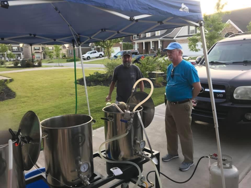 PSB Club Brew Day