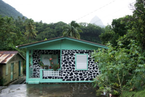 patterned-house-turquoise-soufriere-saint-lucia