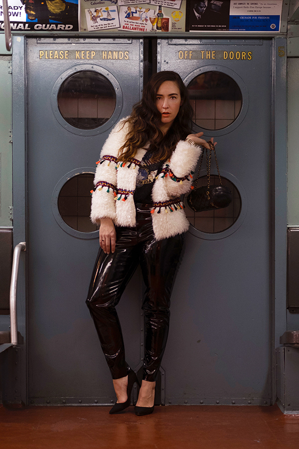 patent-leather-pants-cream-shaggy-coat-with-tassels-23
