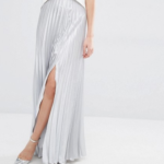 silver-maxi-skirt