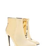 gold-metallic-booties