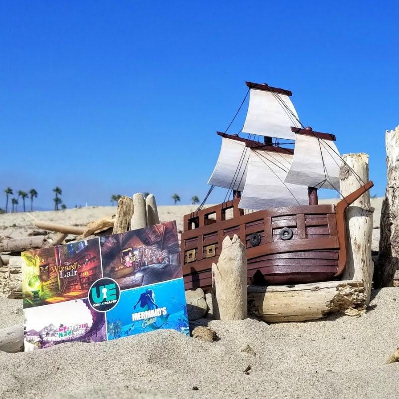 The Ultimate Escape Rooms - beach