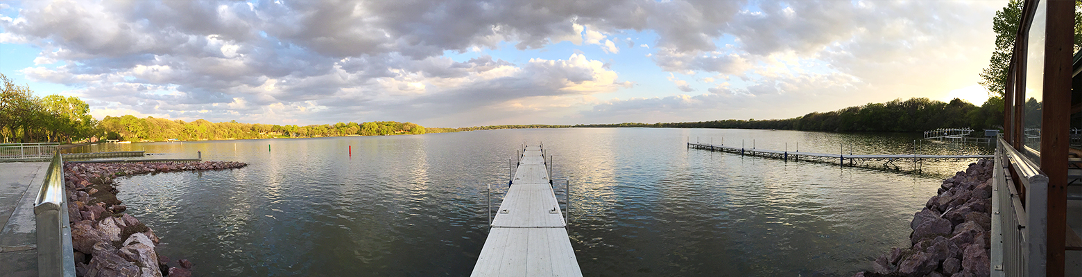 Lake access with beautiful panoramic views are just one element of the Top 10 Reasons to Pack Your Bags and make your way to Fairmont, MN!