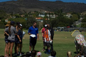 Official signing cermony — at Pepperdine University.