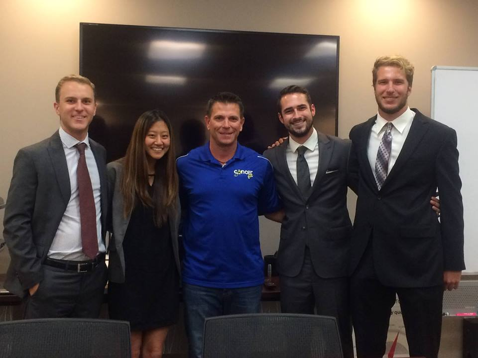 Our Pepperdine University students with the Service Leadership Program