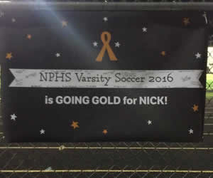 Signs Supporting Nicholas