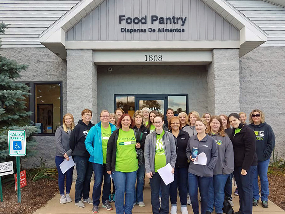 Food Pantry workers