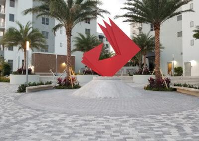 Art Square Main Sculpture
