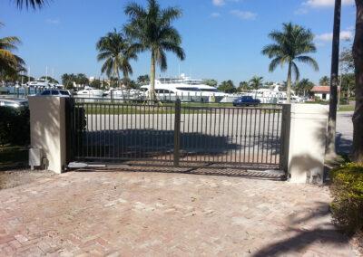 Bay Harbour gates