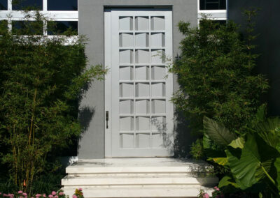 Metal Door for Private Residence