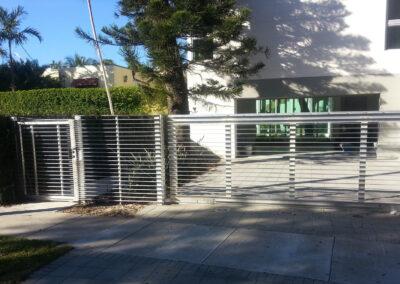Riovista aluminum fence