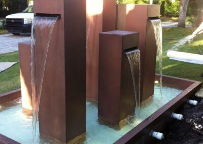 Water Fountain at Coral Gables private Residence
