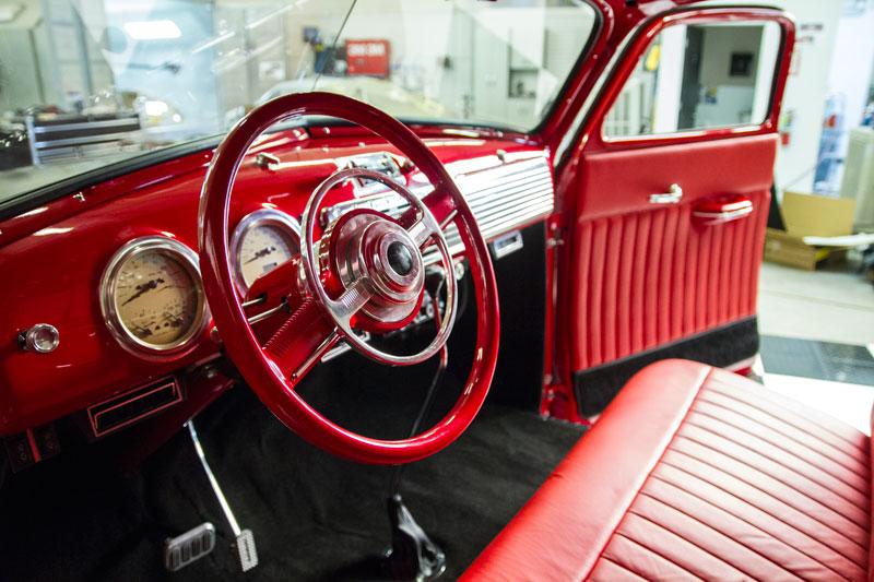 SpeedGarage Truck Interior
