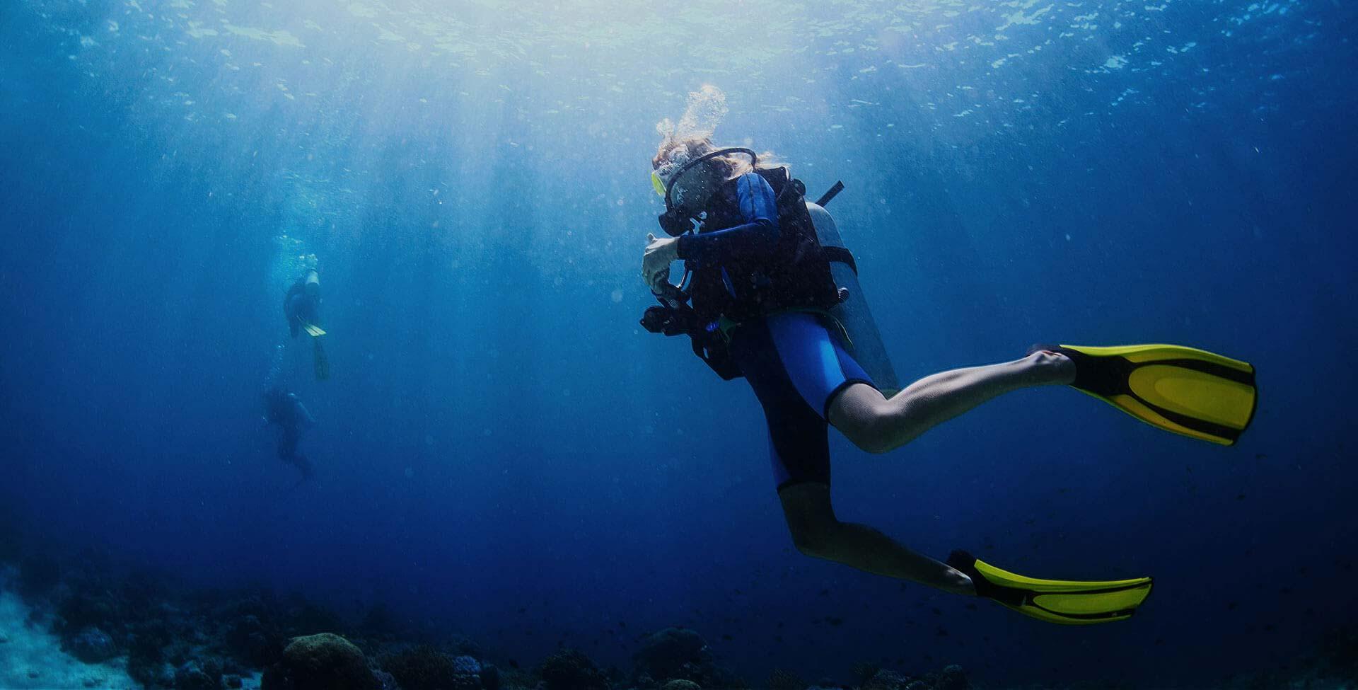 Life looks better underwater.