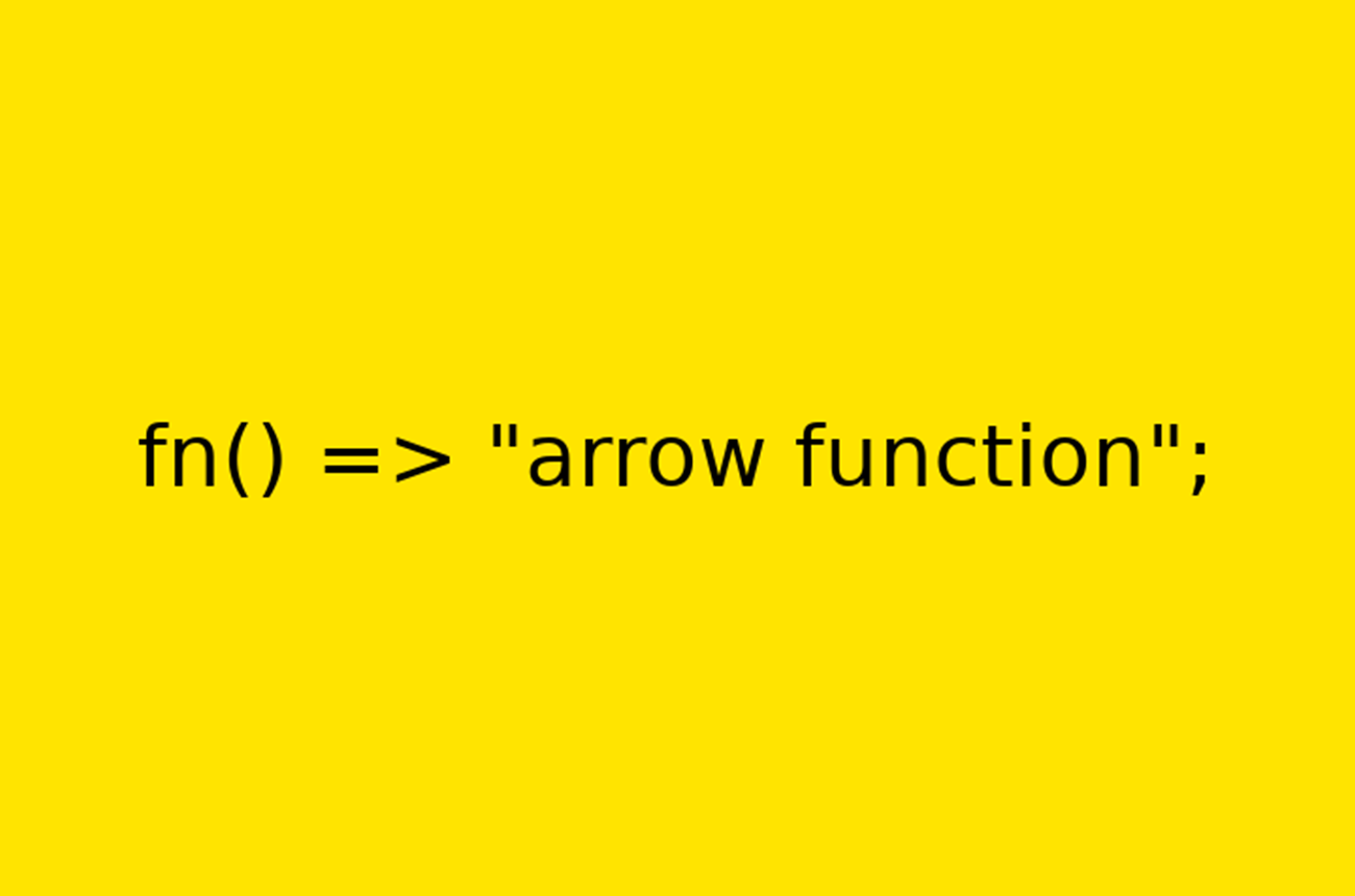 PHP 7.4 arrow functions