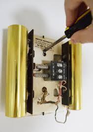 Rewiring a new wireless Doorbell to an existing but bigger doorbell speaker